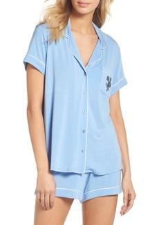 Nordstrom Lingerie Moonlight Shortie Pajamas