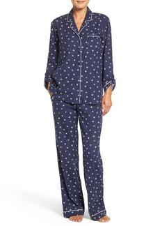 Nordstrom Lingerie Print Cotton Twill Pajamas