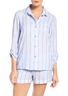 Nordstrom Lingerie Stripe Short Pajamas