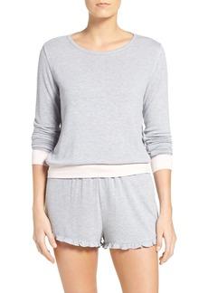Nordstrom Lingerie Summer Nights Lounge Sweatshirt