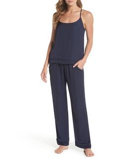 Nordstrom Lingerie Sweet Dreams Satin Pajamas