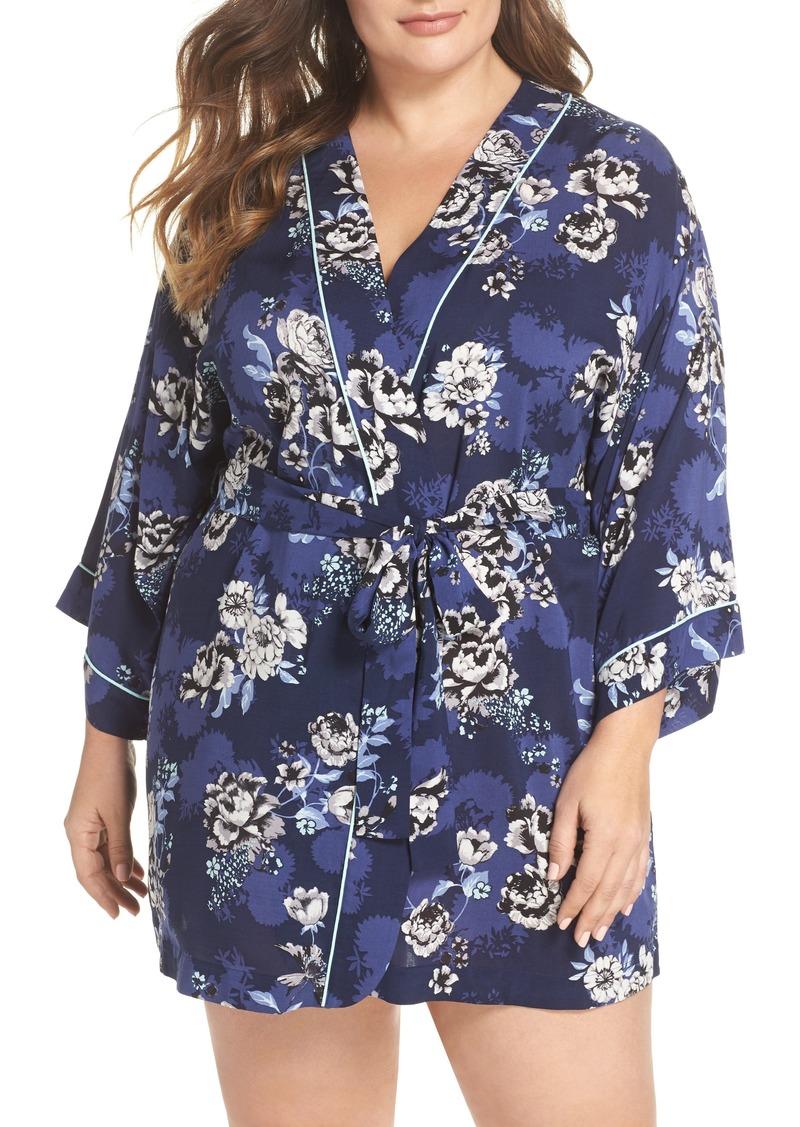 9acf9b36331 Nordstrom Nordstrom Lingerie Sweet Dreams Short Robe (Plus Size ...