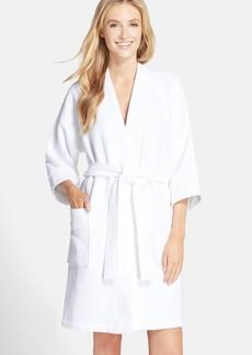 Nordstrom Lingerie Waffle Knit Short Robe