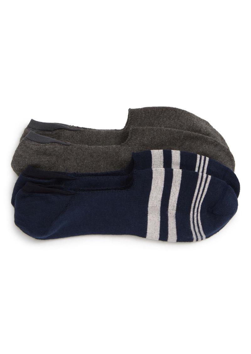 Nordstrom Men's Shop 2-Pack Liner Socks (3 for $30)