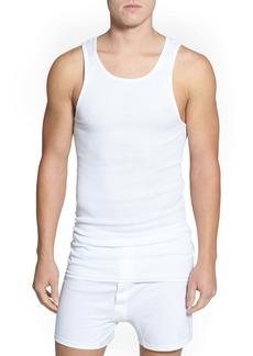 Nordstrom Men's Shop 4-Pack Supima® Cotton Athletic Tanks