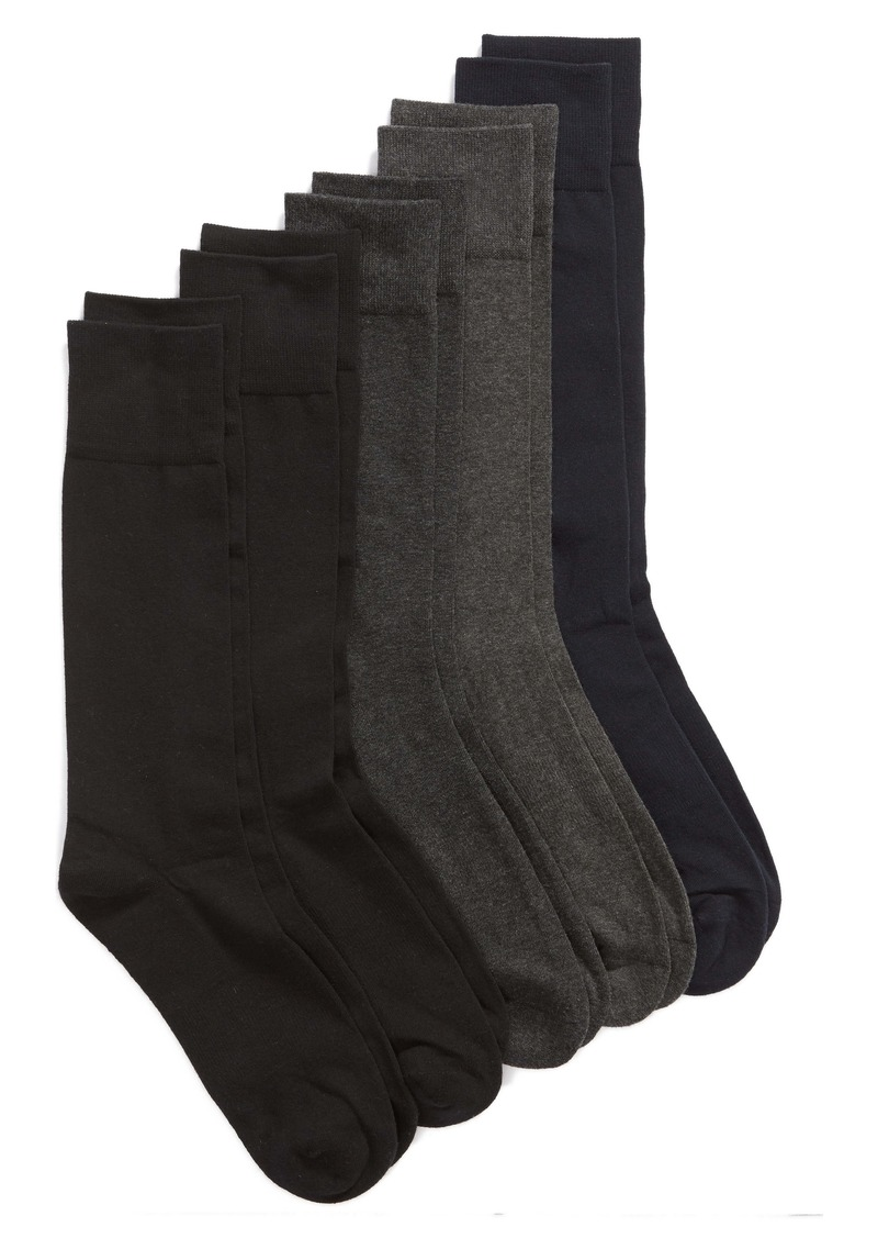 Nordstrom Men's Shop 5-Pack Cushion Foot Arch Support Socks