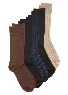 Nordstrom Men's Shop 5-Pack Ultra Soft Socks