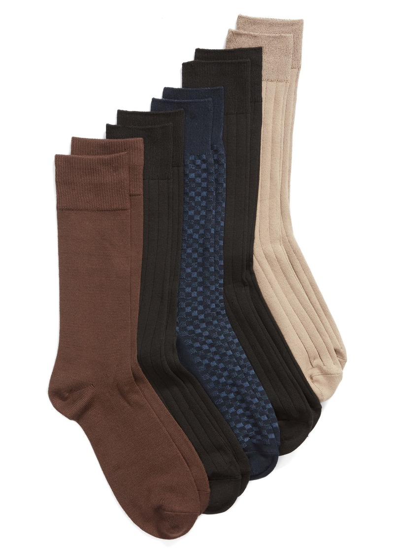 Nordstrom Men's Shop 5-Pack Ultra Soft Socks