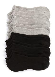 Nordstrom Men's Shop 6-Pack Athletic No-Show Socks