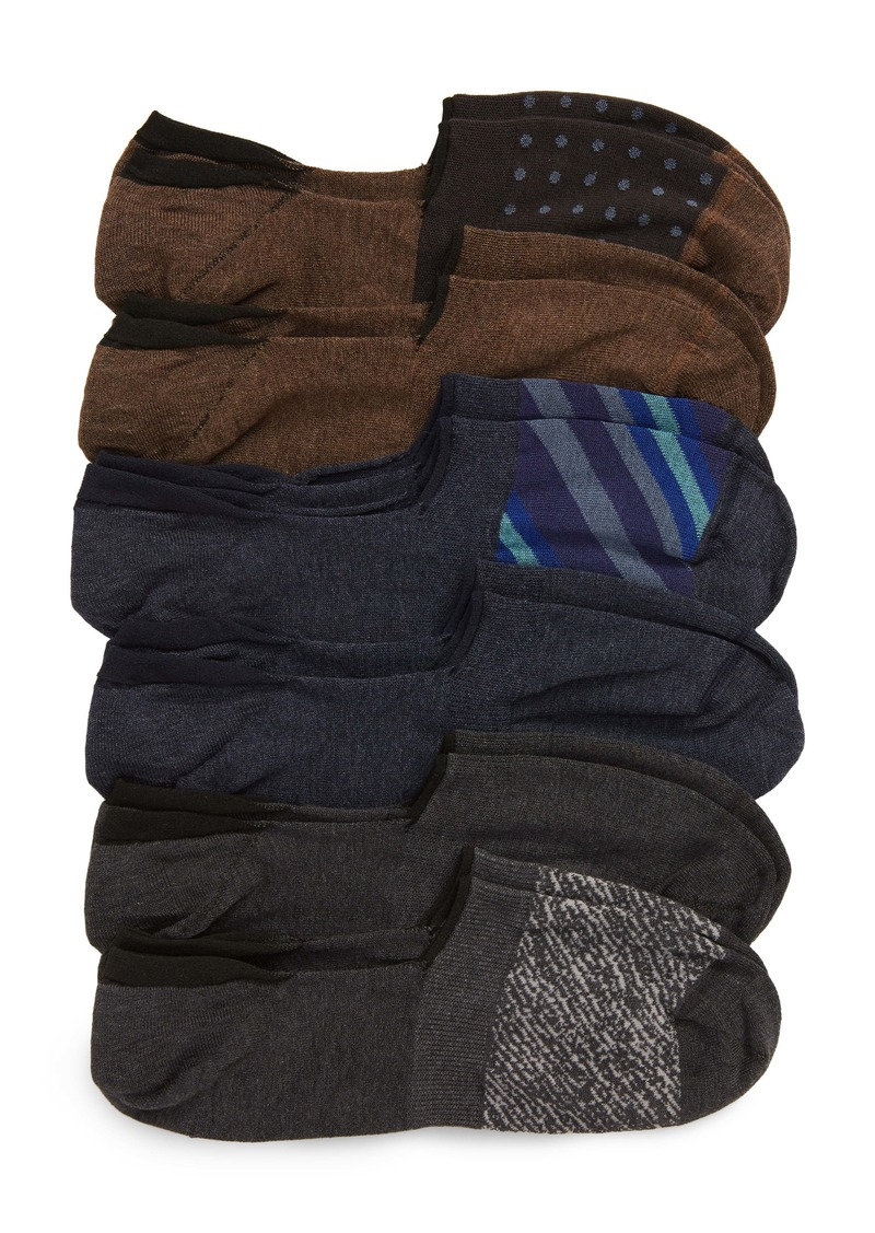 Nordstrom Men's Shop 6-Pack Liner Socks