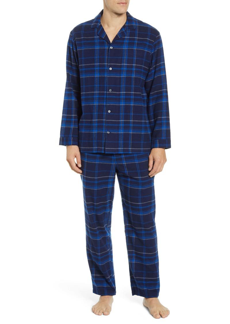 Nordstrom Men's Shop '824' Flannel Pajama Set