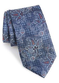 Nordstrom Men's Shop Alioto Paisley Silk Tie