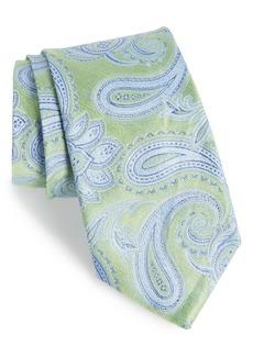 Nordstrom Men's Shop Anrigo Pailsey Silk & Linen Tie