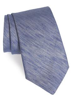 Nordstrom Men's Shop Baylis Solid Linen & Silk Tie