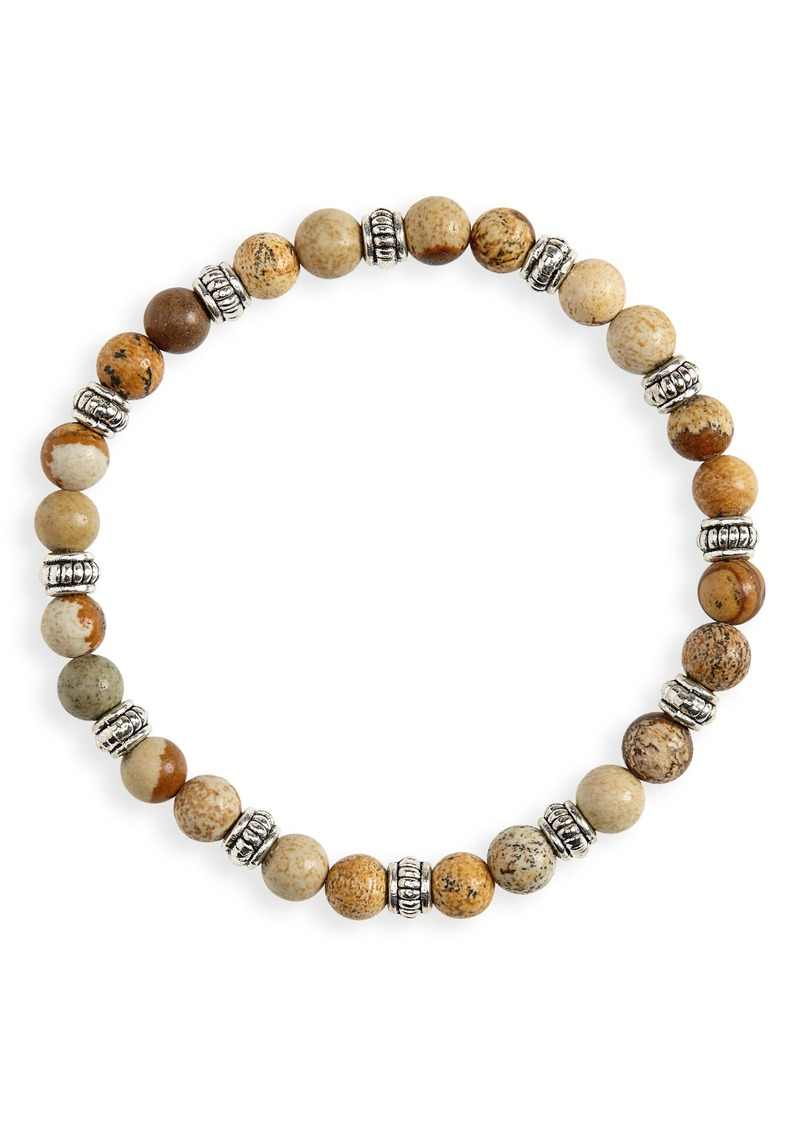 Nordstrom Men's Shop Beaded Bracelet