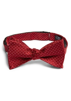 Nordstrom Men's Shop Belmont Basket Weave Silk Bow Tie