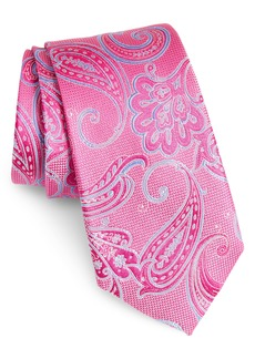 Nordstrom Men's Shop Bennett Paisley Silk Tie (X-Long)