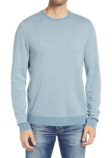 Nordstrom Men's Shop Bird's Eye Crewneck Sweater