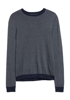 Nordstrom Men's Shop Birdseye Crewneck Sweater