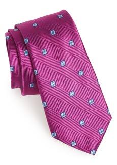 Nordstrom Men's Shop Blake Squares Geometric Silk Tie