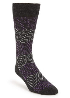 Nordstrom Men's Shop Blocked Waves Socks (3 for $30)