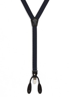 Nordstrom Men's Shop Border Dot Suspenders