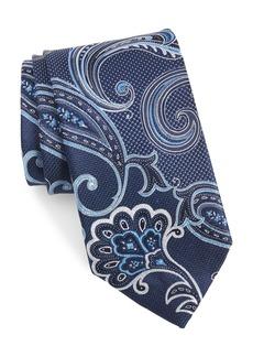 Nordstrom Men's Shop Bryce Paisley Silk X-Long Tie