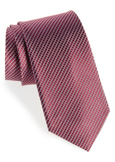 Nordstrom Men's Shop Bucaro Micro Pattern Silk Tie
