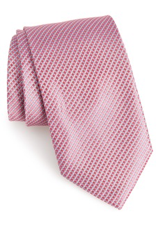Nordstrom Men's Shop Bucaro Solid Silk Tie (X-Long)