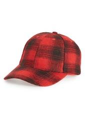 Nordstrom Men's Shop Buffalo Check Baseball Cap