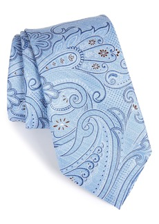 Nordstrom Men's Shop Bushnell Paisley Silk Blend Tie