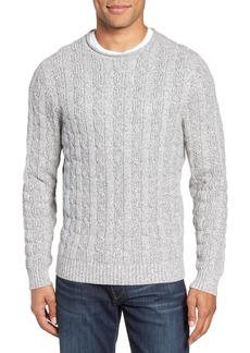 Nordstrom Men's Shop Cable Knit Crewneck Sweater