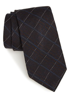 Nordstrom Men's Shop Cadeo Plaid Wool & Silk Tie
