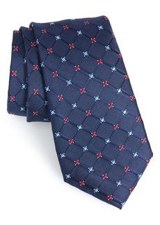 Nordstrom Men's Shop Cambridge Grid Silk Tie
