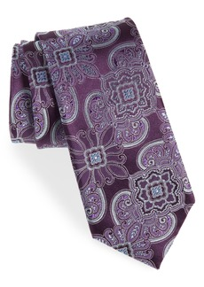 Nordstrom Men's Shop Casey Medallion Silk Tie