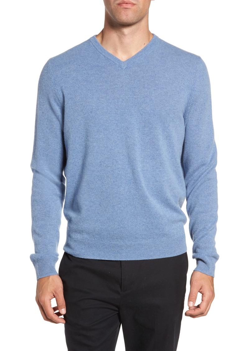 1456119703cc SALE! Nordstrom Nordstrom Men s Shop Cashmere V-Neck Sweater