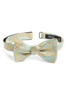 Nordstrom Men's Shop Catto Paisley Silk Bow Tie