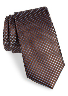 Nordstrom Men's Shop Chad Microdot Silk Tie