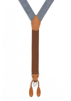 Nordstrom Men's Shop Chambray Suspenders