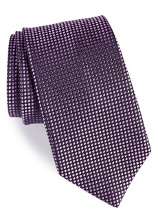 Nordstrom Men's Shop Charlie Dot Silk Tie (X-Long)