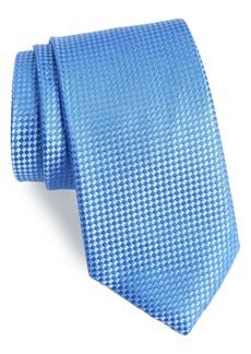 Nordstrom Men's Shop Check Silk Tie (X-Long)