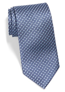 Nordstrom Men's Shop Check X-Long Silk Tie