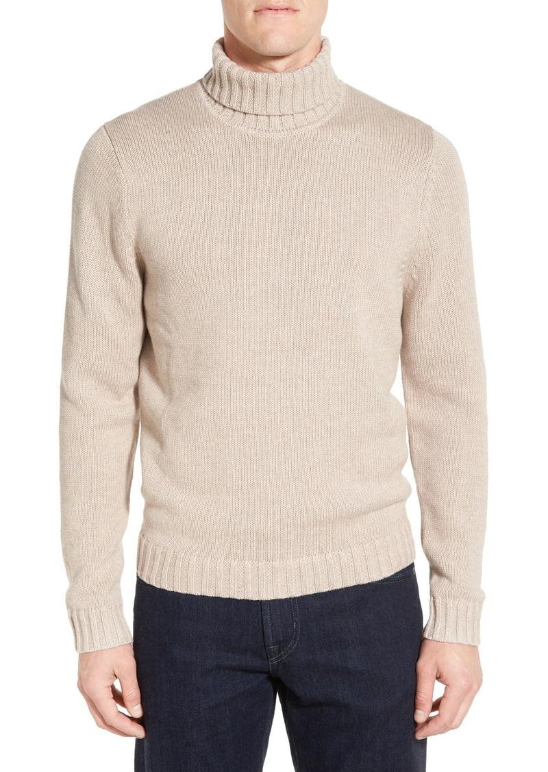 Nordstrom Men's Shop Chunky Turtleneck Sweater (Regular & Tall)