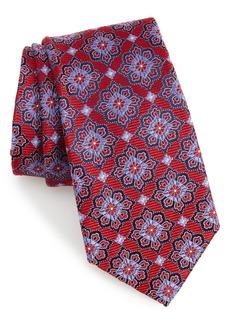 Nordstrom Men's Shop Cleo Medallion Silk Tie