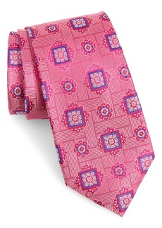 Nordstrom Men's Shop Clinten Medallion Silk Tie