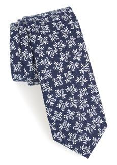 Nordstrom Men's Shop Clofton Floral Cotton Tie