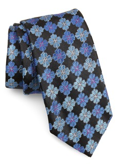 Nordstrom Men's Shop Cole Floral Silk Tie (X-Long)
