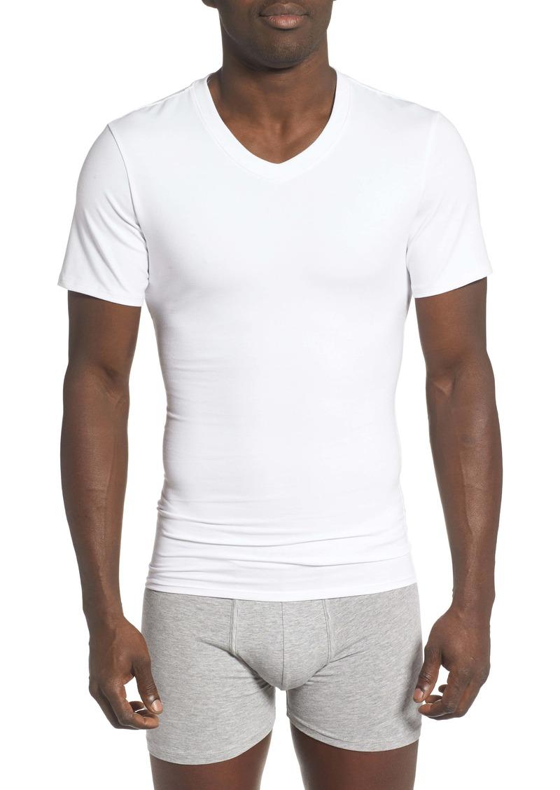 Nordstrom Men's Shop Compression V-Neck T-Shirt