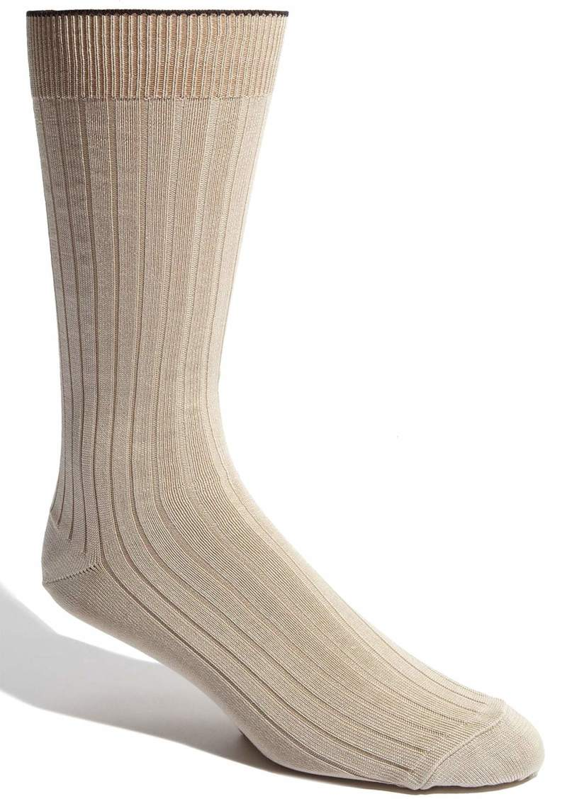 Nordstrom Men's Shop Cotton Blend Dress Socks (3 for $30)