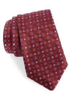 Nordstrom Men's Shop Coventry Check Silk Tie